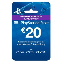 PlayStation Live Cards Hang EUR20/GRE
