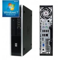 HP  Η/Υ 8000 Elite USDT, E7500, 4GB DDR3, 160GB HDD, DVD, Win 7 (USED)