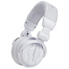 American Audio 64 Ohms Professional Foldable DJ Headphones - Snow White