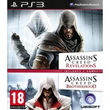 Assassin's Creed Brotherhood and Assassin's Creed Revelations Double Pack (PS3)