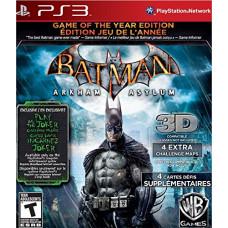 Batman: Arkham Asylum Game of the Year Edition (PS3)