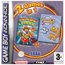 Columns Crown and ChuChu Rocket Double Pack (GBA)