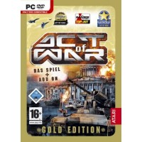 Act Of War Direct Action & High Treason Gold Edition Game PC [Windows]