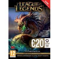 LEAGUE OF LEGENDS 20€ CARD (PC )