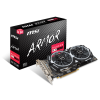 MSI Radeon RX 580 ARMOR 8G OC Graphic card