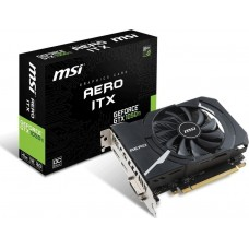 MSI nVIDIA GeForce GTX 1050 4G Aero ITX Graphic Card