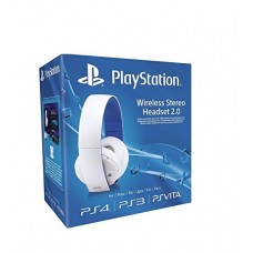 Sony PlayStation Wireless Stereo Headset 2.0 - White (PS4/PS3/PS Vita)