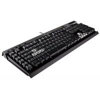 Corsair CH-9000223-UK K40 Multi-Colour Backlit Gaming Keyboard, Black