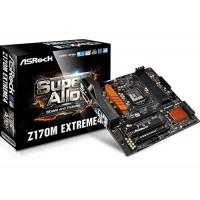 Asrock Z170M EXTREME4  DDR4 Motherboard - Black